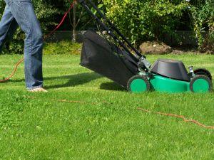 Auch beim Rasenmähen sollte man einige Regeln beachten