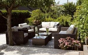 Gartenmöbel aus Rattan sind ein richtiger Hingucker