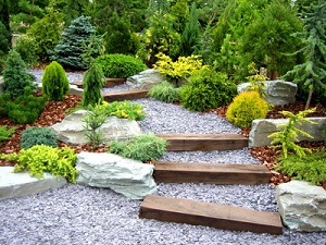 Eine Gewisse Schlichtheit Kennzeichnet Die Moderner Gartengestaltung