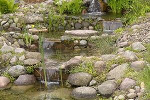 Wenn der Garten groß genug ist, kann man auch einen Bachlauf anlegen © ralf walter - Fotolia.com