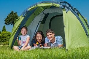 Camping ist bei den Deutschen sehr beliebt © Max Topchii - Fotolia.com