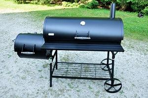 Ein Smoker für den Garten