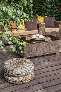 Eine Terrasse Aus Stein Oder Holz Bauen GartenRatgebernet - Terrassenboden stein preis