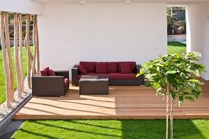 Die Terrasse kann zu einem zusätzlichen Wohnraum werden © habrda - Fotolia.com