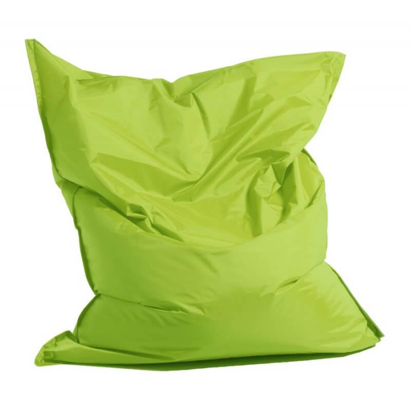 Schicker Outdoor-Sitzsack in Lime-Grün © sitzsack-xxl.com