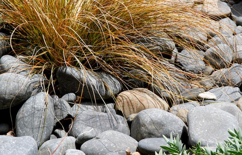Steinbeet anlegen im Garten