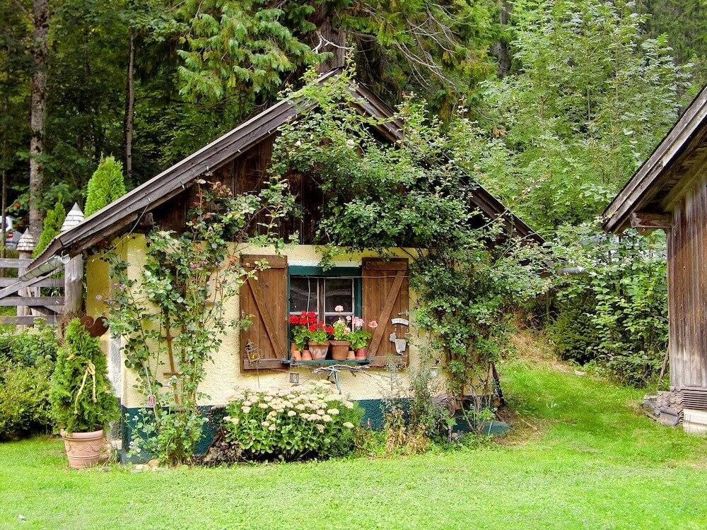 Ferienhaus im Garten